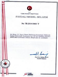 Efe Refakatçi Koltuğu Patent